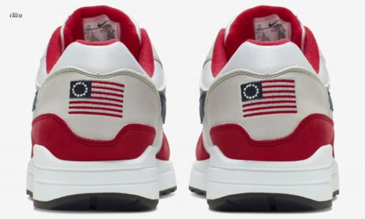 Nike Featuring Betsy Ross Flag Cancelled After Receiving Criticism