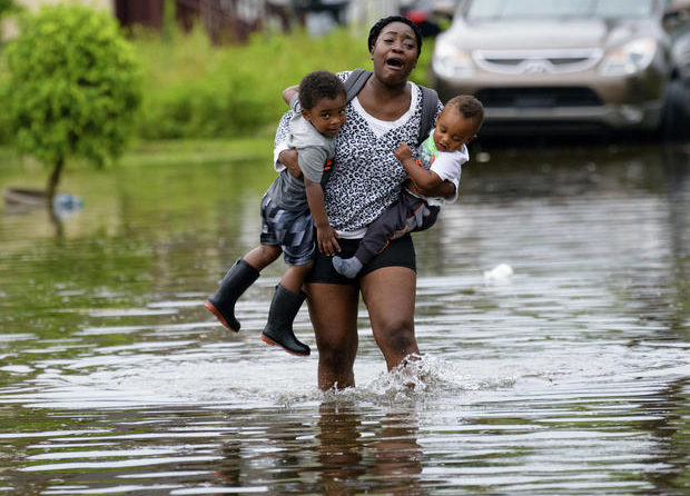 Severe Storms Triggered Flooding In New Orleans As Possible Hurricane Looms