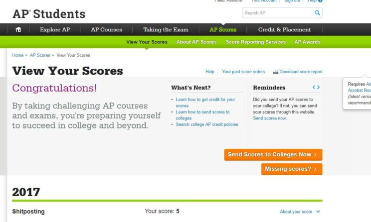The College Board Is Releasing The AP Results