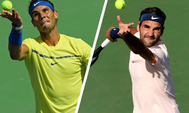 The US Open No. 2 Seed Battle Between Rafael Nadal And Roger Federer