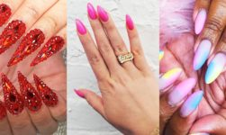 Top 20 Hottest Stiletto Nails Art Designs You Cn Try This Year!