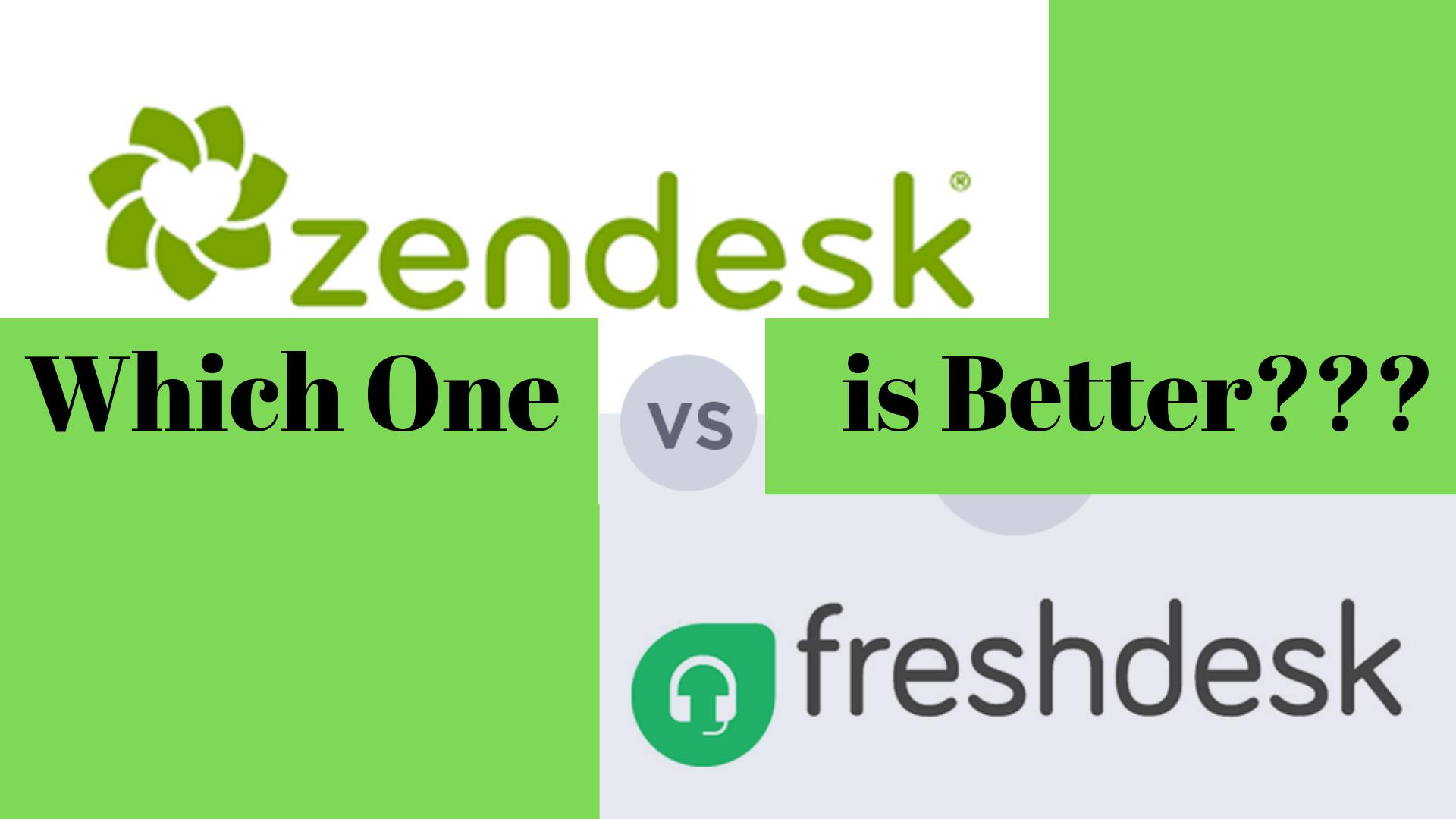 Zendesk vs Freshdesk: Which Is The Best Customer Service Software?