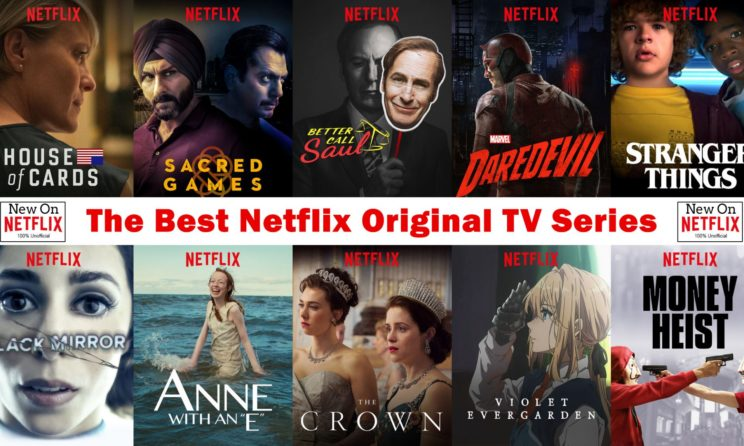Top series in netflix 2019