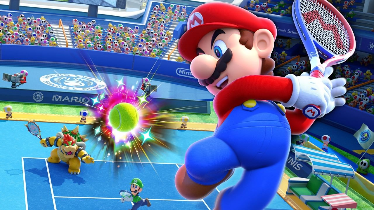 Want To Try Mario Tennis Aces For Free? Try Nintendo!
