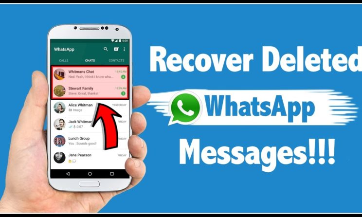 Here Is How To Recover Deleted WhatsApp Messages