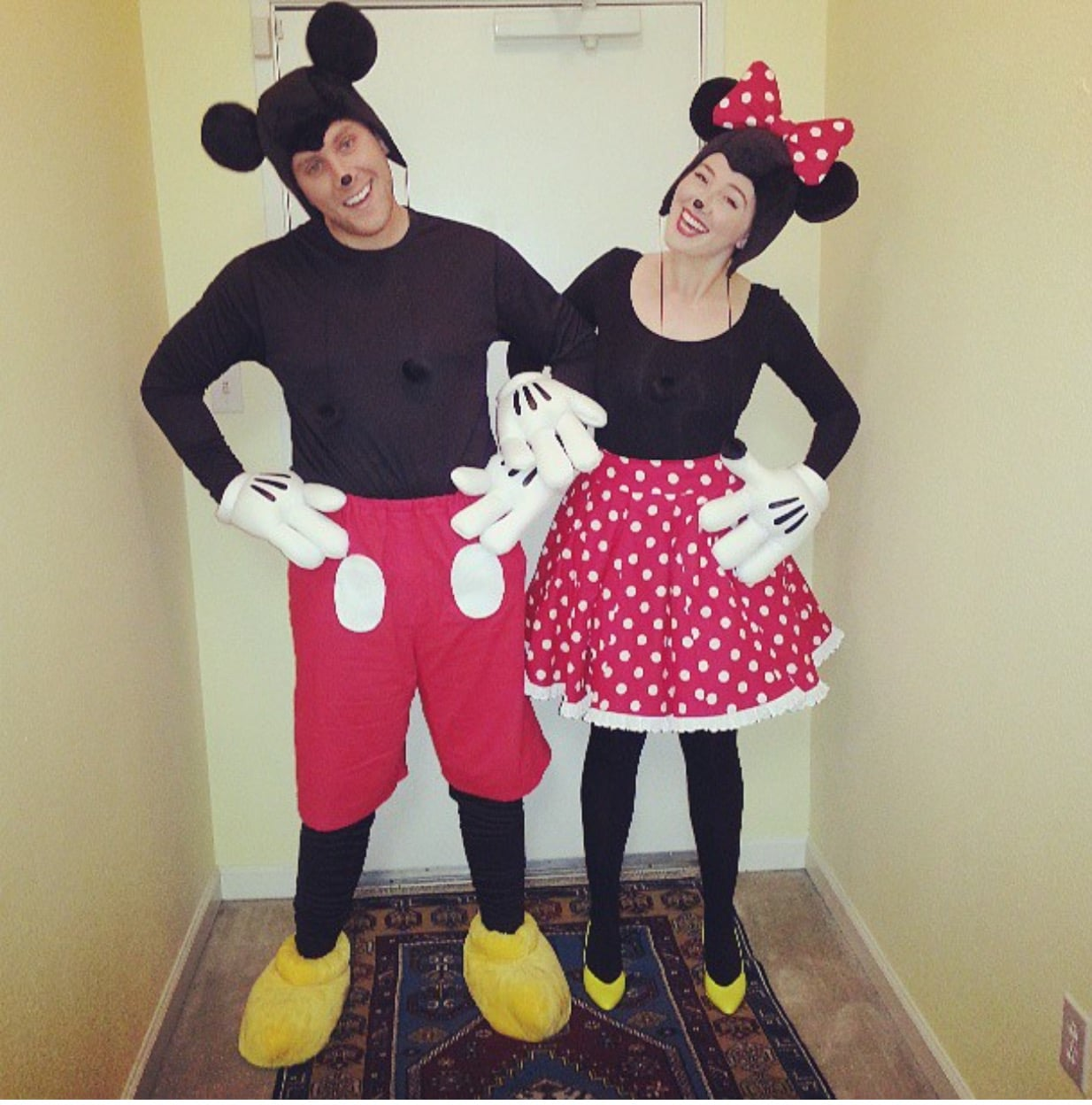 Micky and Minnie Mouse Costume