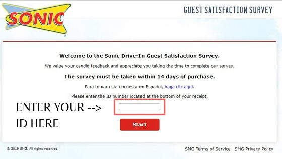 Talktosonic: Win Free Drink To Finish The Customer Satisfaction Survey At www.talktosonic.com